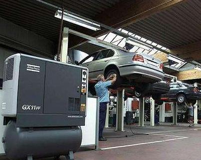 空气压缩机在汽车行业的应用